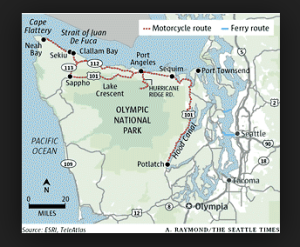 map Cape Flattery
